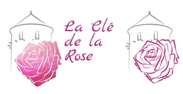 portfolio logo la clé de la rose
