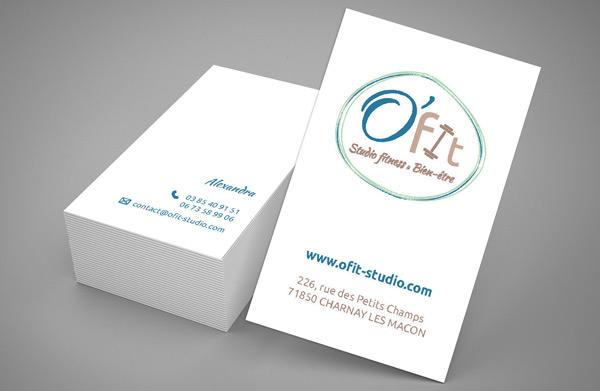 Carte de visite O'fit